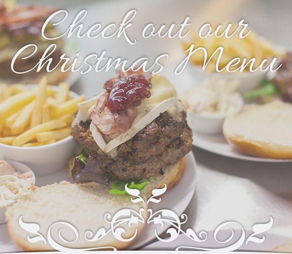 The Dorset Burger Company Christmas Menu